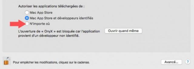 ouvrir pre fe rences de securite pour apps mac 4