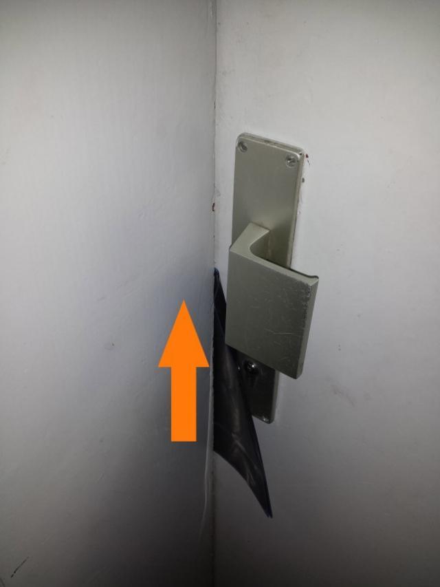ouvrir une porte avec une radio 2