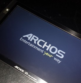 Reinitialiser archos 101 internet tablet