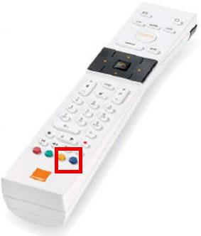 reinitialiser decodeur blanc orange 1