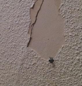 Réparer un crepi interieur
