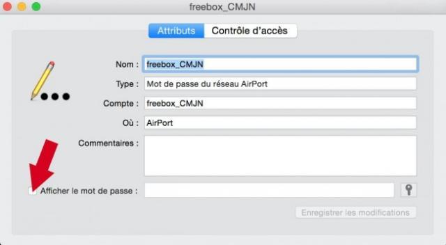 retrouver ses mots de passe wifi sur mac 4