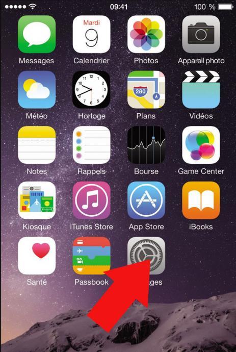 supprimer les clic clavier iphone 1