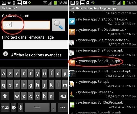 supprimer une application d origine sur android 3