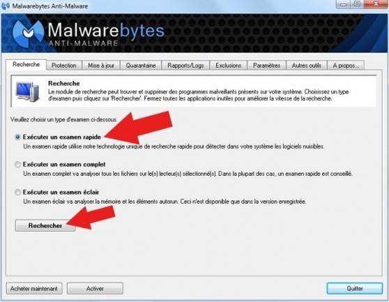 supprimer virus windows internet watchdog 3