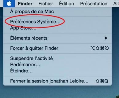 synchroniser contact google sur mac 1