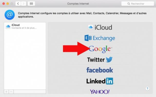 synchroniser contact google sur mac 3