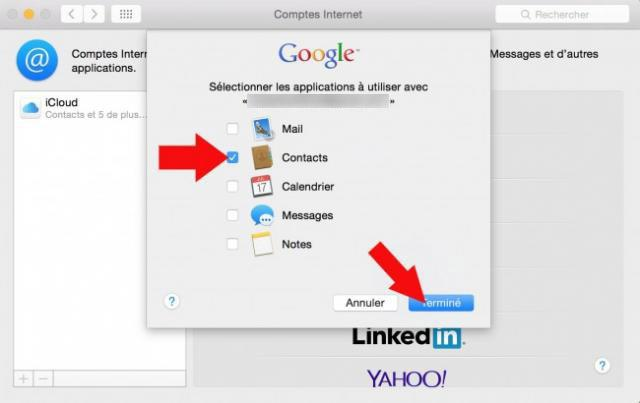 synchroniser contact google sur mac 5