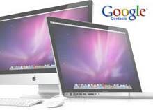 synchroniser contact google sur mac 0