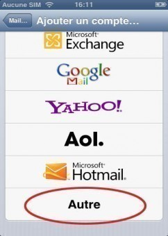 synchroniser ses contacts gmail sur iphone 1