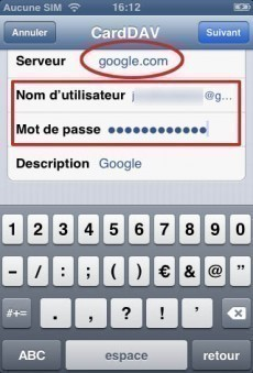 synchroniser ses contacts gmail sur iphone 3