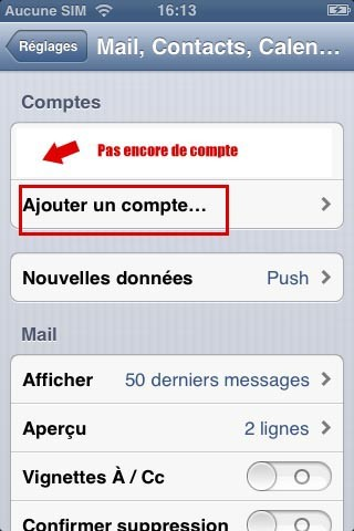 synchroniser ses contacts google avec iphone 2