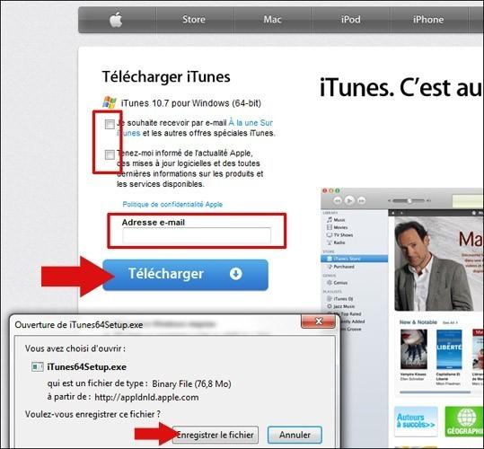 telecharger et installer itunes 1