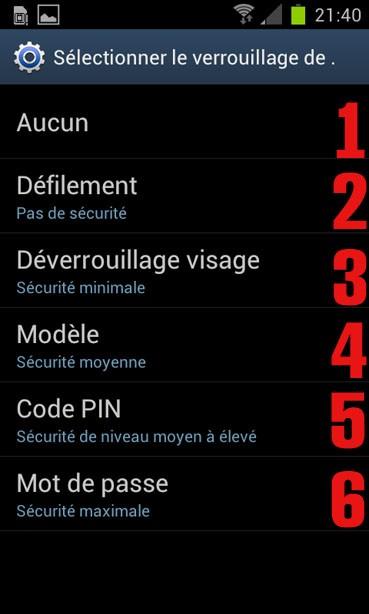 verrouiller l ecran sur android 4 0 3 4