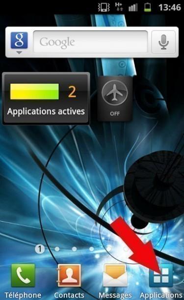 Verrouiller l'écran sur android2.3.4