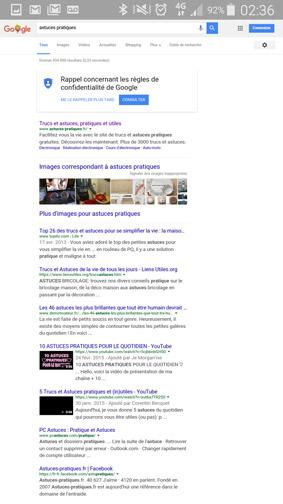 version ordinateur d un site ou page web sur smartphone 15