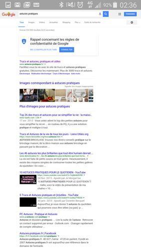 version ordinateur d un site ou page web sur smartphone 15