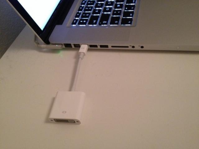 brancher un autre ecran sur son macbook pro 2