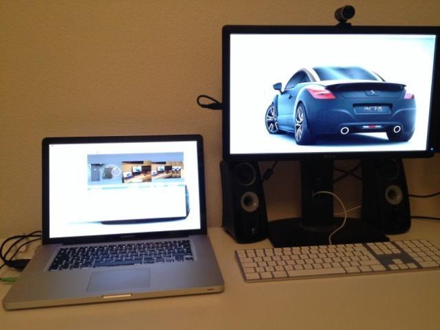 brancher un autre ecran sur son macbook pro 4