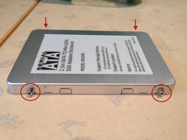 changer le disque dur macbook pro 6