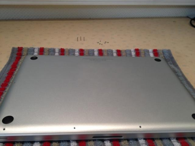 Changer le disque dur macbook pro