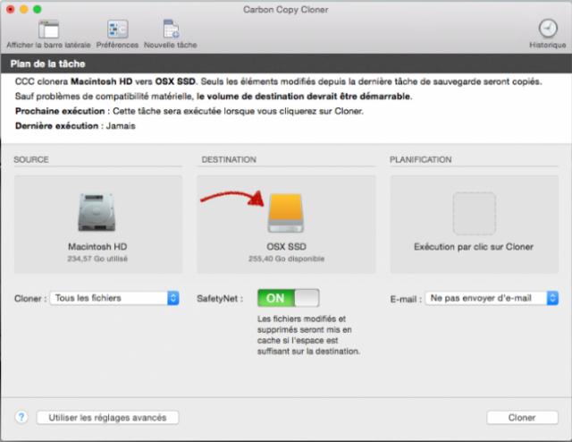 cloner disque dur mac sur sdd 4