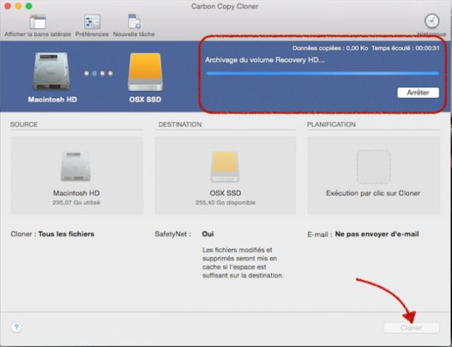 cloner disque dur mac sur sdd 5