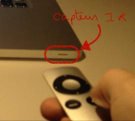 connecter une telecommande apple sur macbook pro 1
