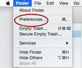 faire apparaitre toutes les icones dans finder 1