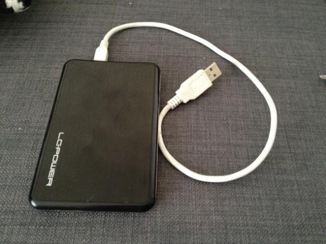 monter le disque dur du macbook pro en usb 3
