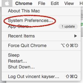 retirer le jumelage apple remote sur le mac 0