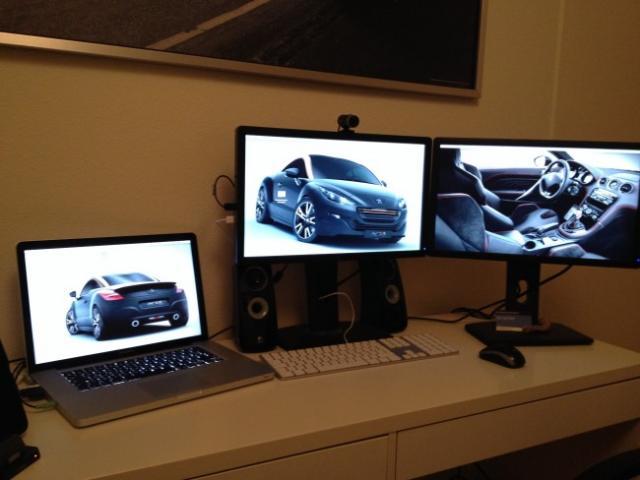 travailler avec 3 ecrans sur votre macbook pro 4