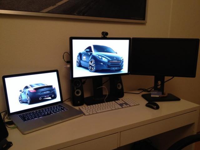 Travailler avec 3 écrans sur votre Macbook Pro