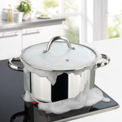 Astuce pour éviter un débordement de casserole