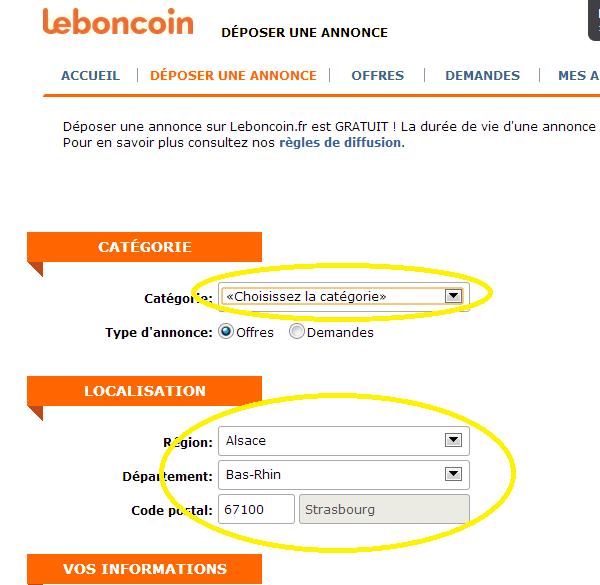 comment poster une annonce sur leboncoin fr 2