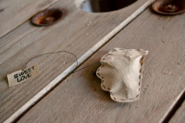 Fabriquer des sachets de thé maison