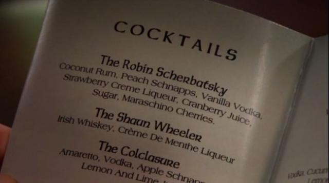 Recette du Cocktail The Robin Scherbatsky