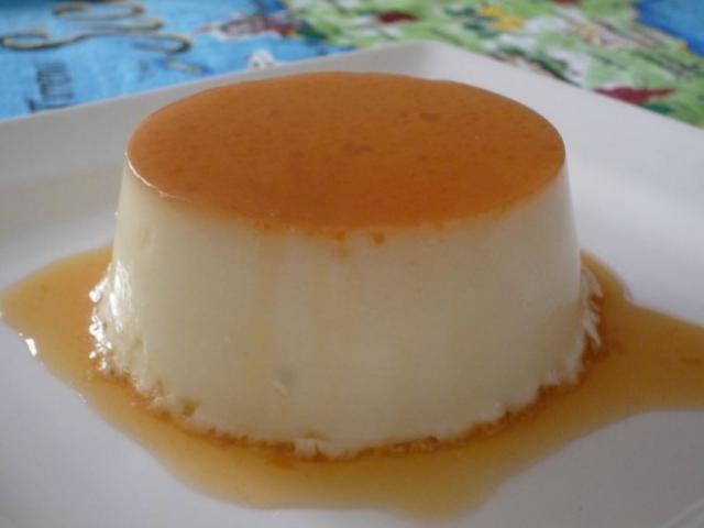 Recette : Flan au lait de coco