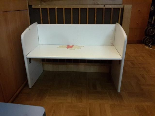 lit bebe casse transformez le en banc pour votre enfant 1