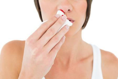 Que faire en cas de saignement du nez ?