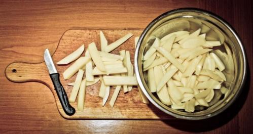 comment faire des frites croustillantes 1