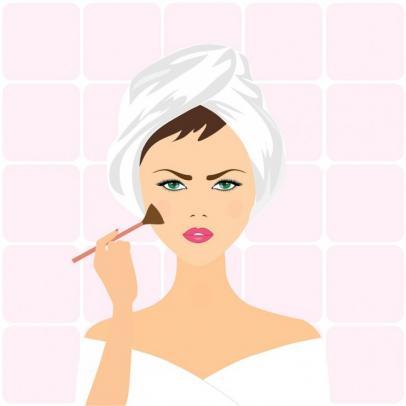 comment maquiller une peau grasse 1