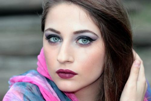 Maquiller des yeux bleus