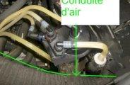 Remplacer filtre gasoil clio 2 1.5dci