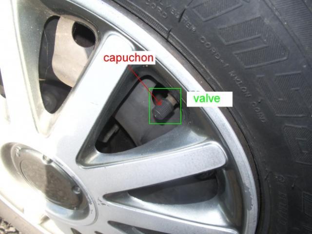 ajuster la pression des pneus 1