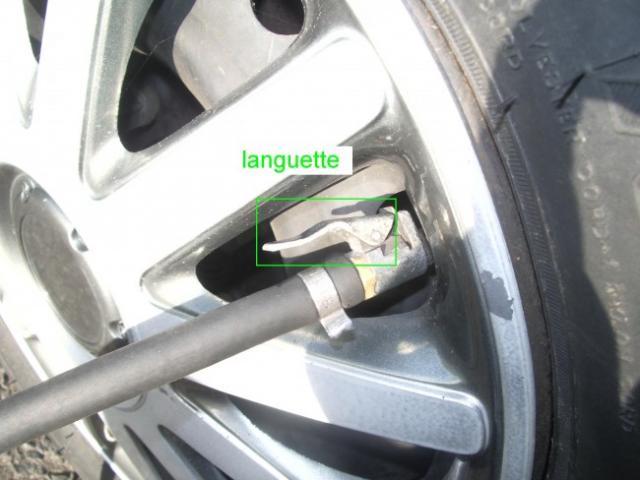 ajuster la pression des pneus 2