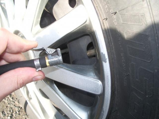 ajuster la pression des pneus 4