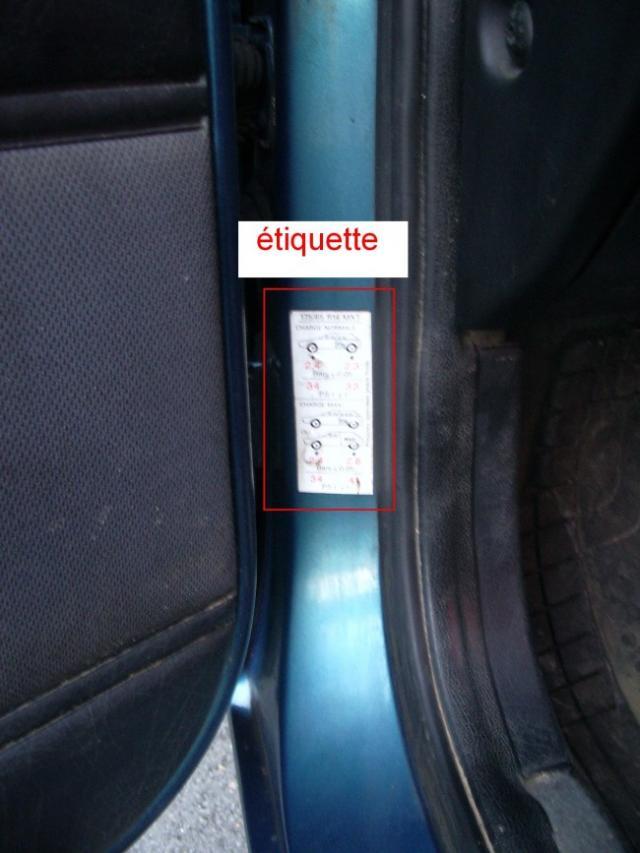 ajuster la pression des pneus 0