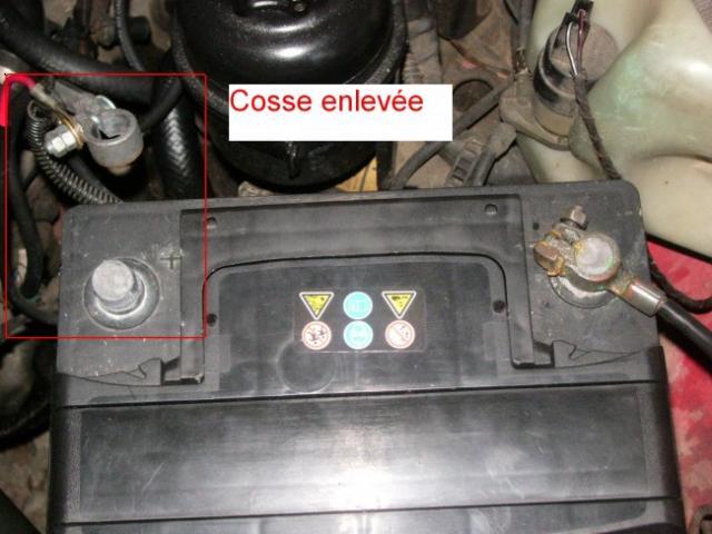 changement de batterie sur opel calibra 2 0i 1