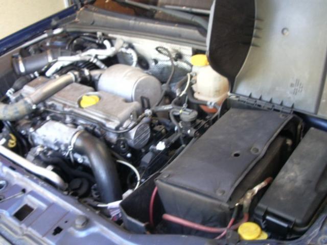 demontage de batterie sur vectra c 2 2l tdi 1
